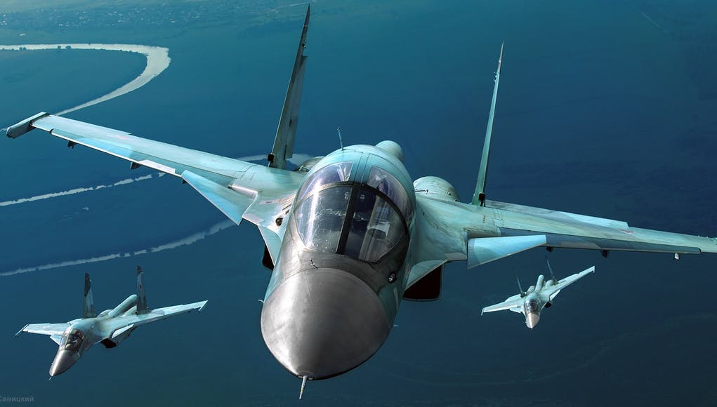 Russia Deploys Su-34 Jets To Black Sea Region, US Not To Send It's Warships There