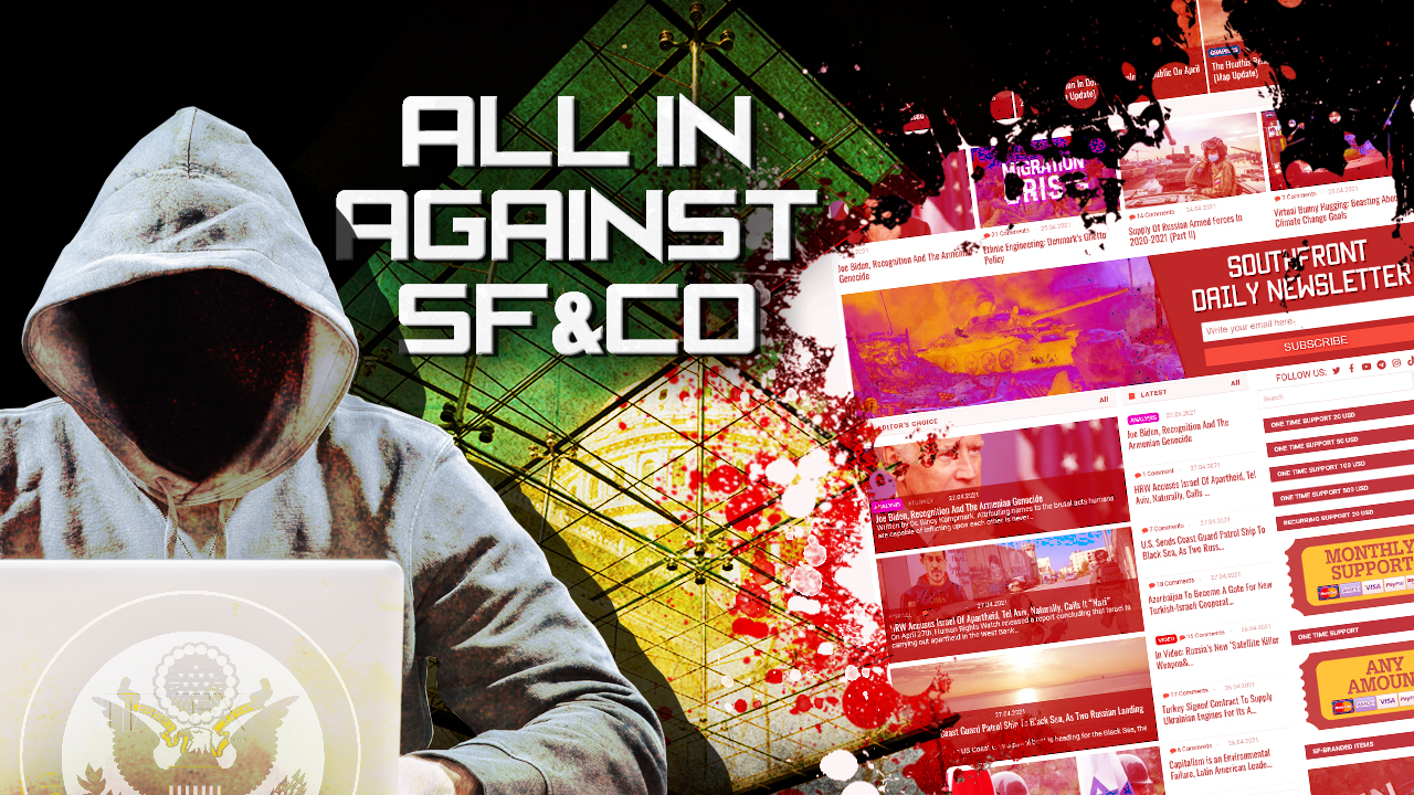 All In Against SouthFront: US Intelligence To Create New Foreign Malign Influence Center