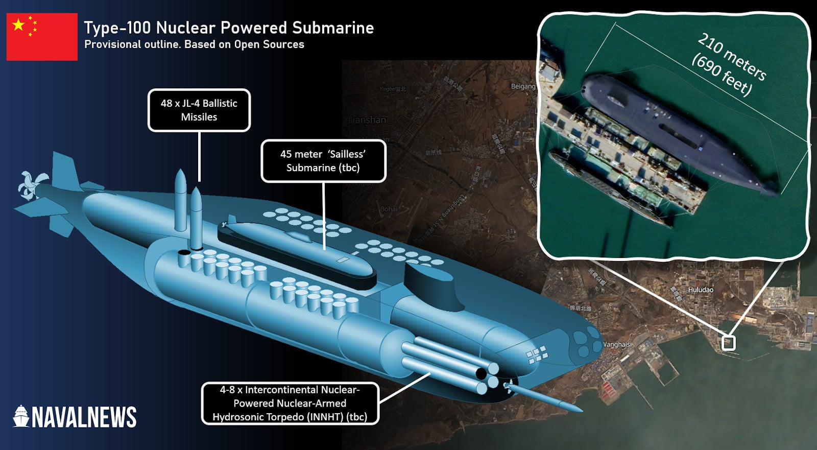 """Behold The Chinese Type 100-Class """"God Of Submarines"""""""