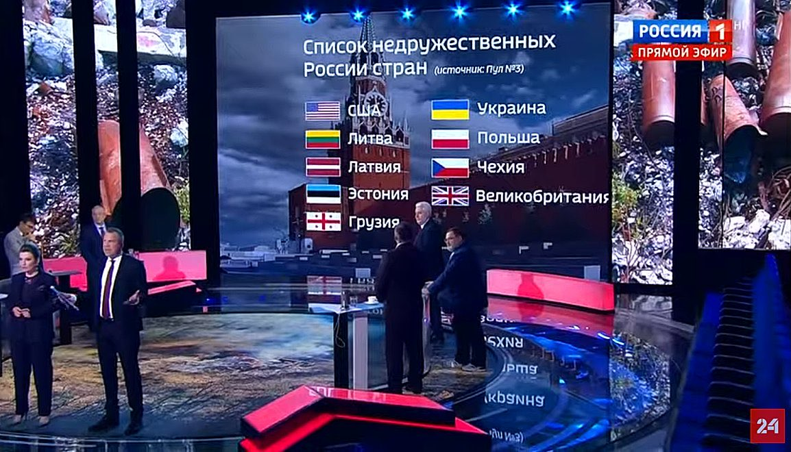 """Russia's """"Harsh Response"""" To US: You Are Not My Friend Anymore"""