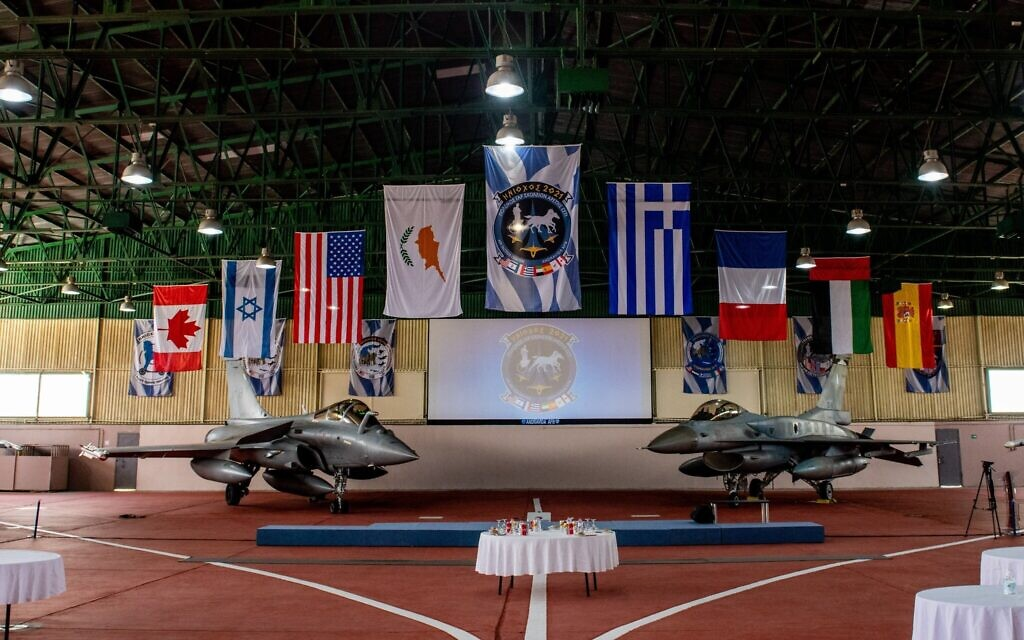Israel Takes Part In Greek Military Exercise, Signs Defense Procurement Deal