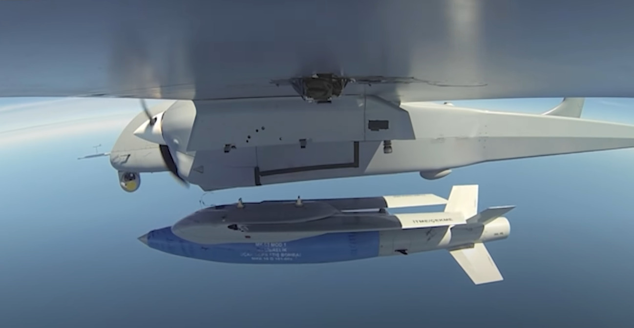 In Video: Turkish Combat Drone Test-Fired New Stand-Off Guided Glide Bomb