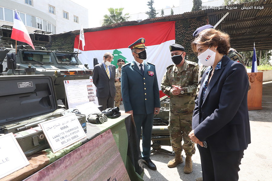 France Hands Over Anti-Tank Guided Missiles To Lebanese Army (Photos)