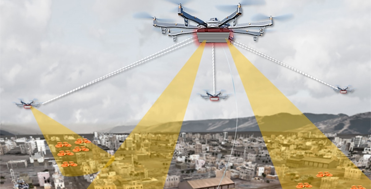 DARPA'S Aerial Dragnet Hunts Drones With Drones
