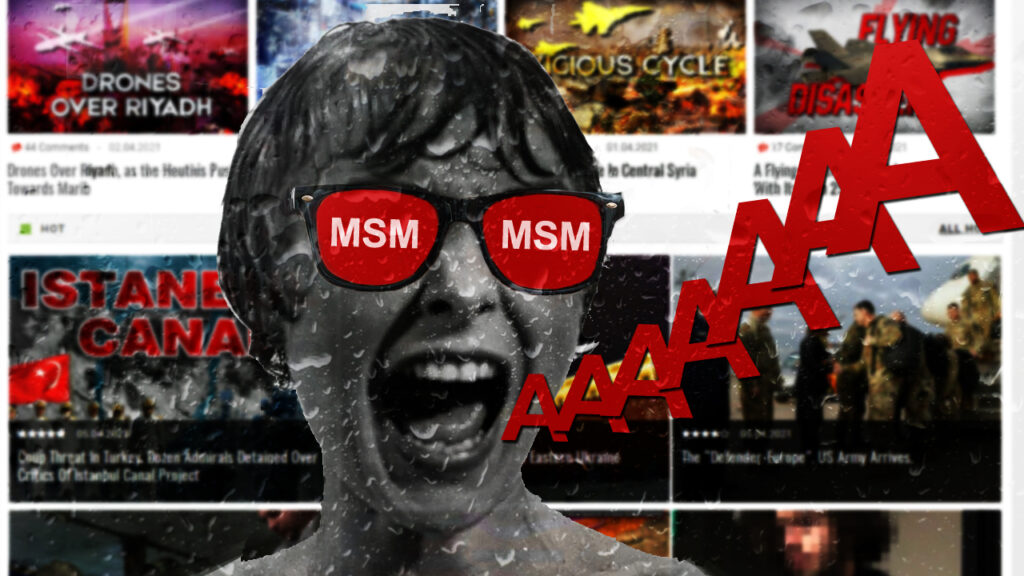 SouthFront Is In The Center Of MSM Horror Stories Again
