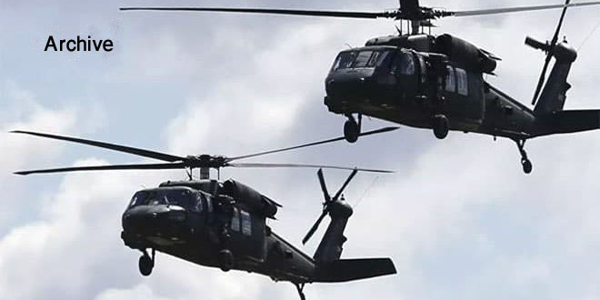 US Helicopters Transported Dozens Of ISIS Terrorists To Al-Omar Oil Field: SANA Report
