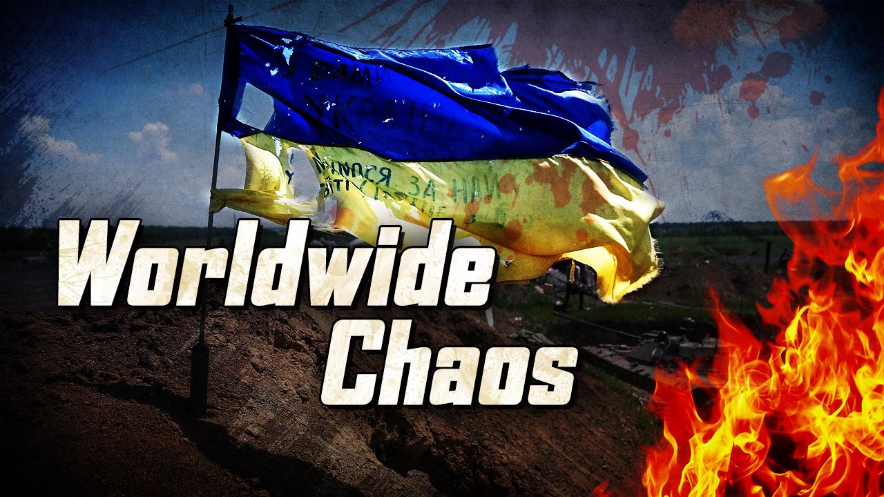 Nur einen Schritt vom weltweiten Chaos entfernt