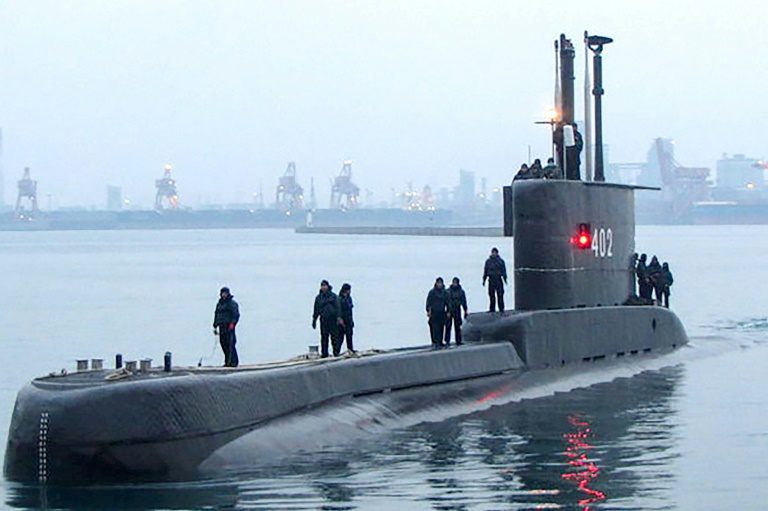 Indonesian Navy Searching For Disappeared Submarine With 53 On Board
