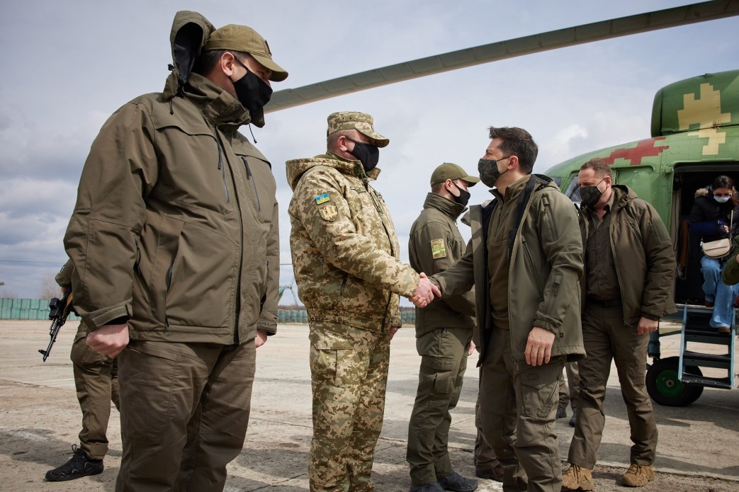 Zelenskiy Arrived In Donbass Amid Growing Military Escalation