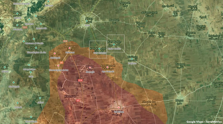 Dozen Killed In Heavy Clashes Between Kurdish Forces, Turkish-Backed Militants In Northern Aleppo