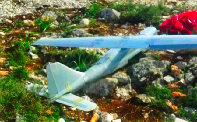 Another Russian Drone Lost In Greater Idlib