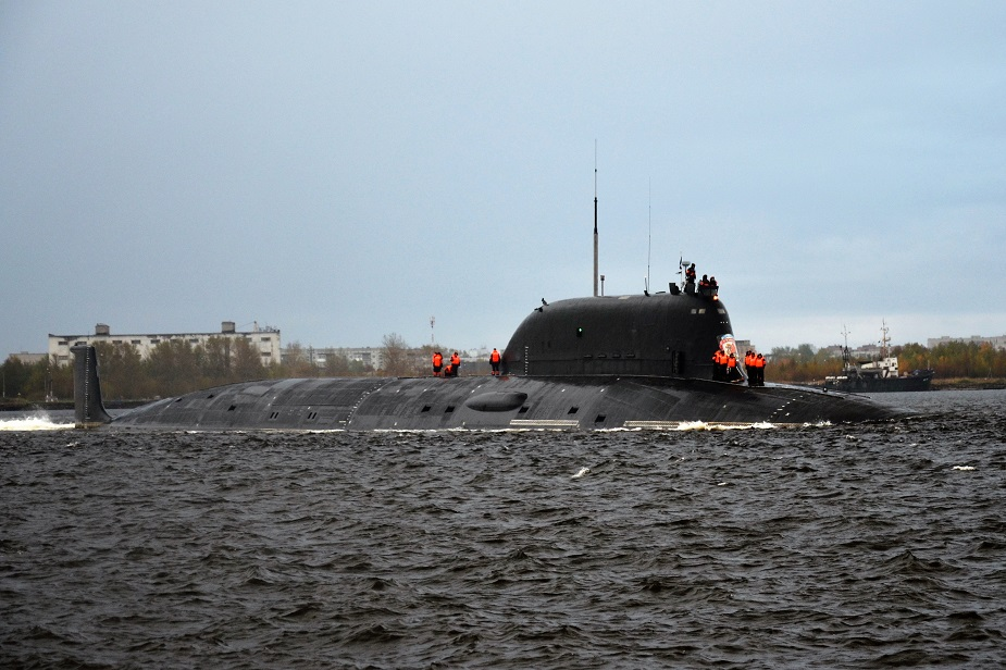 Russia's Yasen-M Nuclear Submarine To Be Able To Salvo Launch Cruise Missiles