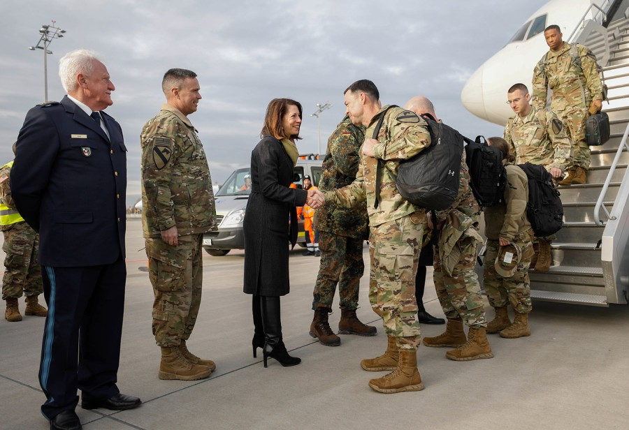 """The """"Defender-Europe"""". US Army Arrives."""