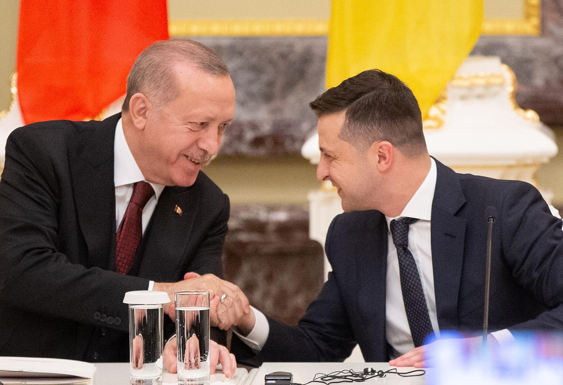 Zelensky Goes To Turkey, As Erdogan Calls Moscow