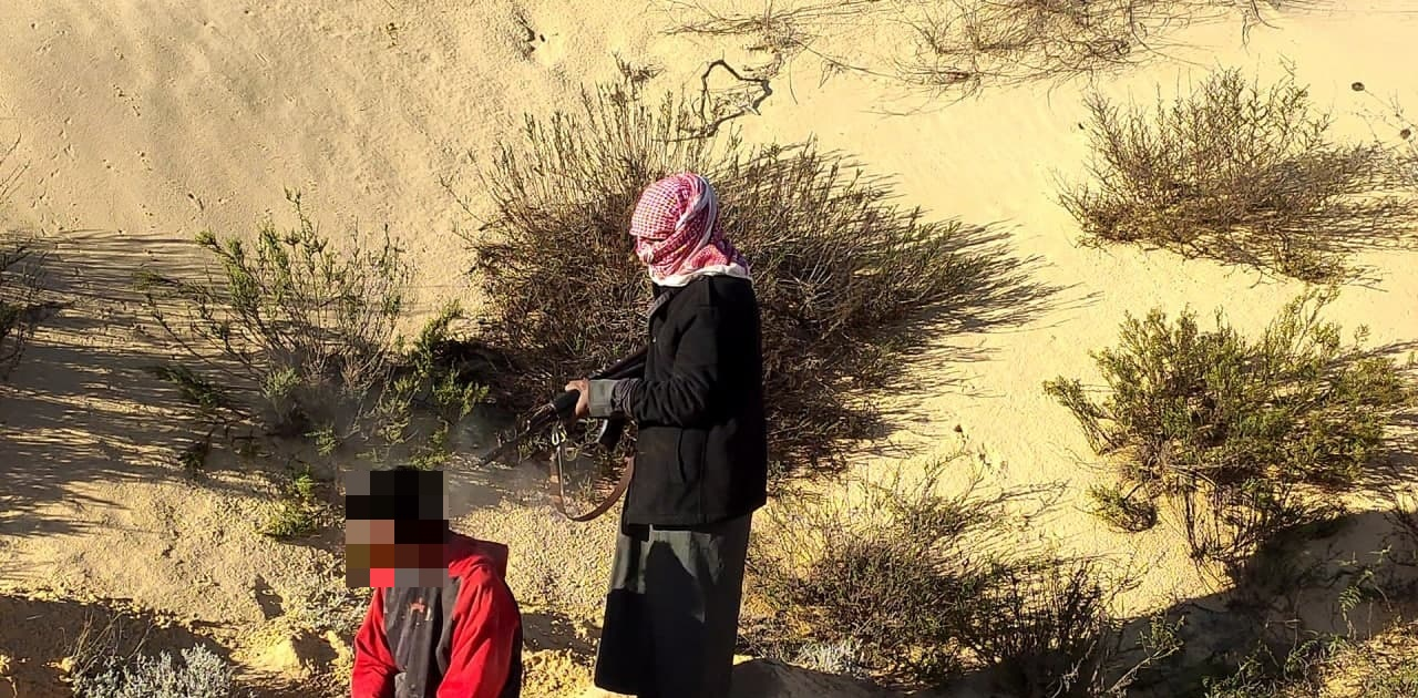 Sinai Insurgency: ISIS Terrorists Execute Pro-Government Tribal Fighter (Photos)