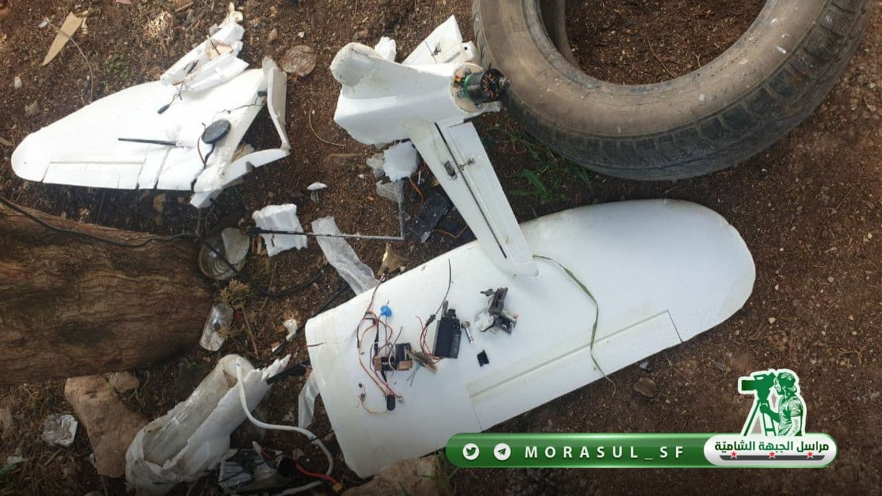 Turkish Proxies Shot Down DIY Armed Drone Over Syria's Aleppo (Photos)