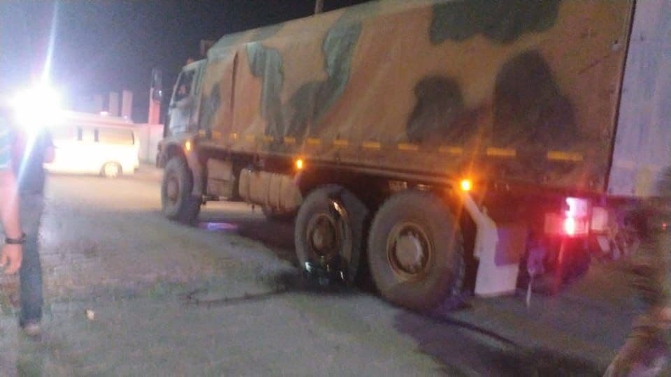Turkish Convoy Attacked In The Midst Of Militant Stronghold In Northern Syria (Photos)