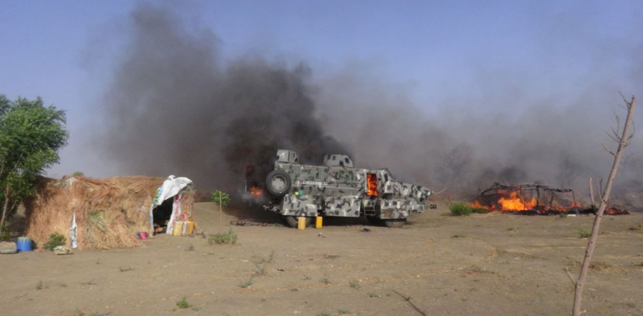 In Photos: ISIS Launched Large Attack On Nigerian Army Base In Borno