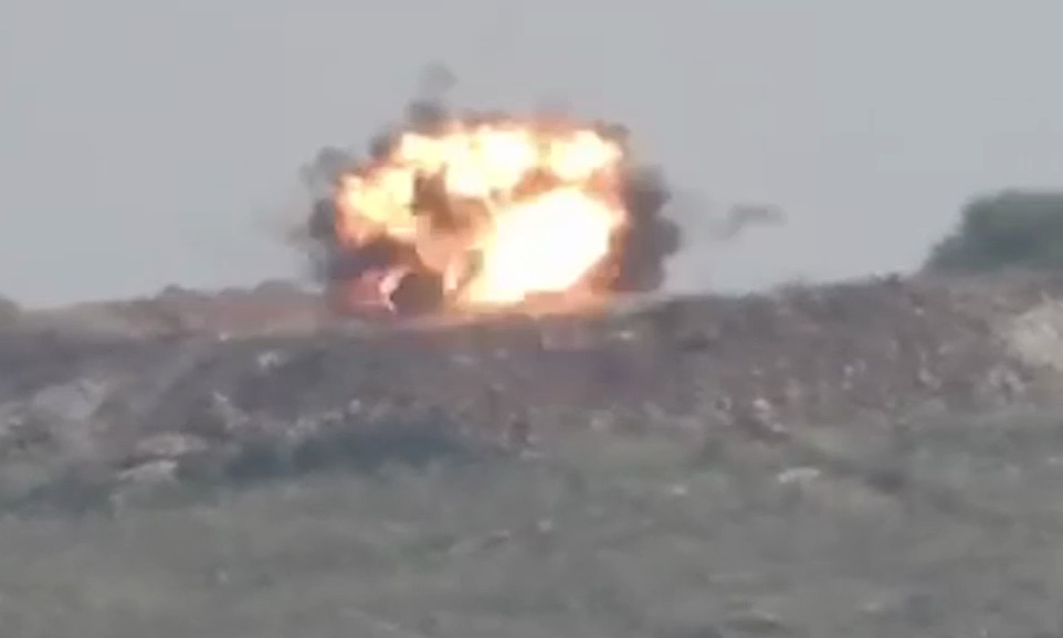 Two Vehicles Destroyed In Guided Missile Attack In Turkish-Occupied Afrin In Northern Syria