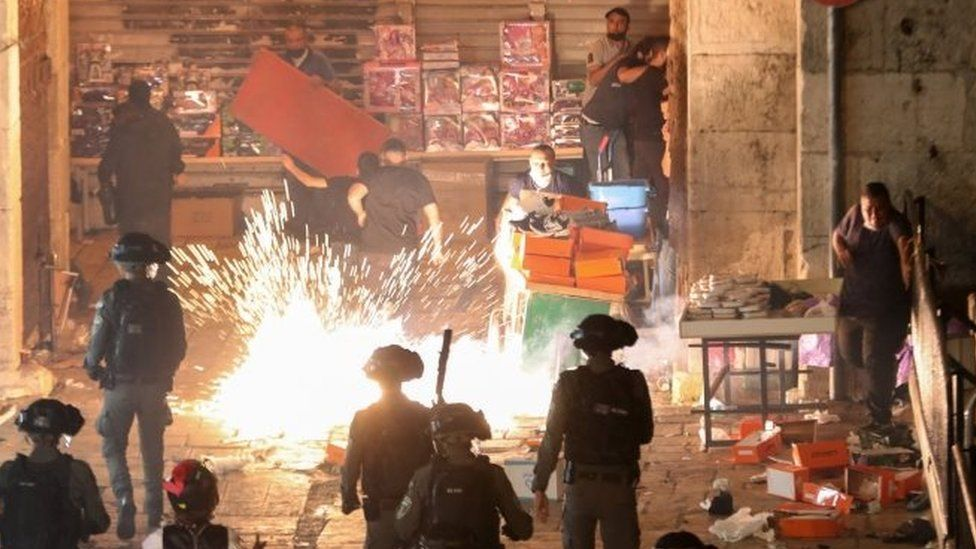 Clashes In Jerusalem And Fire Exchange Between Gaza And The IDF (Updated)