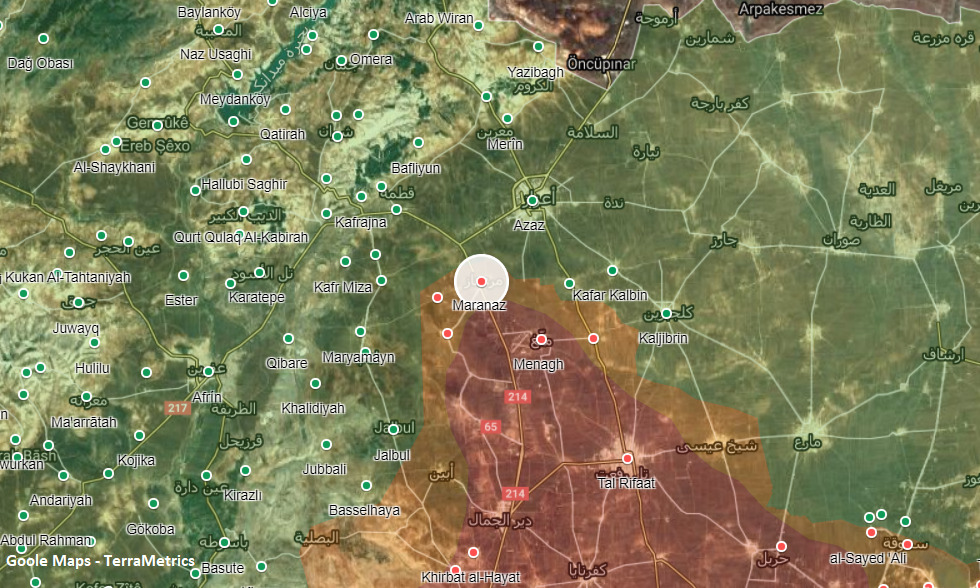 Turkish Forces Shelled Northern Aleppo Following Failed Infiltration By Kurdish Fighters