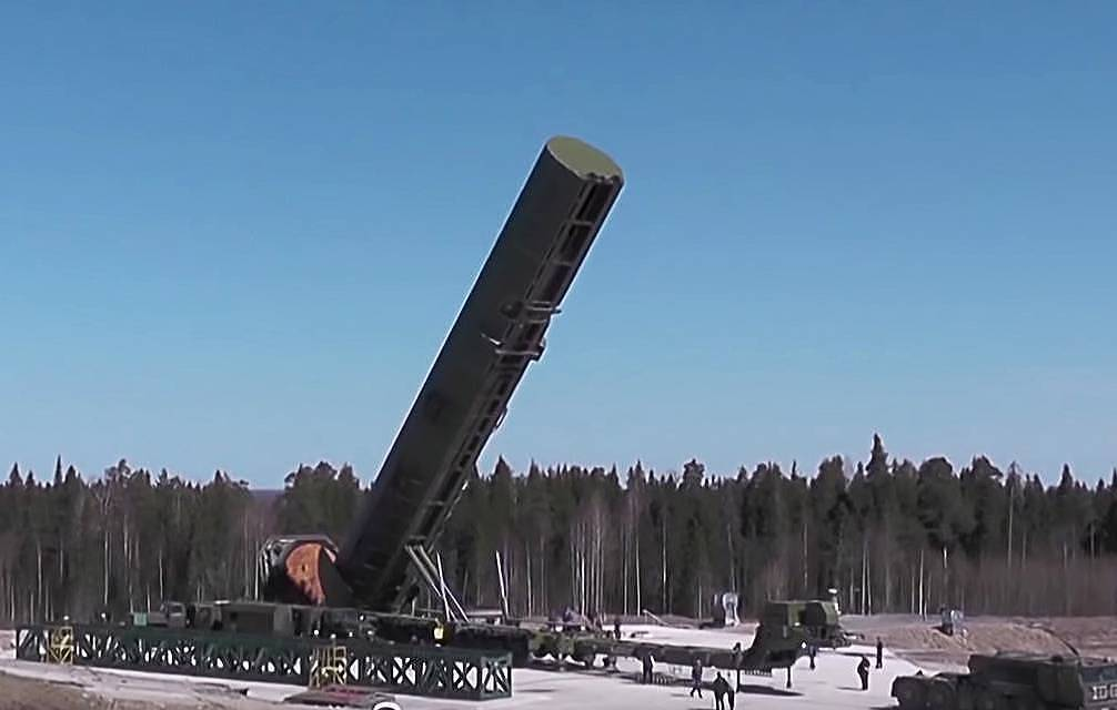 Russia To Test RS-28 Sarmat ICBM Three Times In 2021, British Media Goes Off The Rails