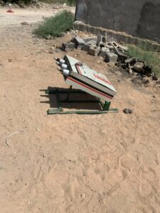 Iraqi Security Forces Thwarted Rocket Attack In Baghdad (Photos)