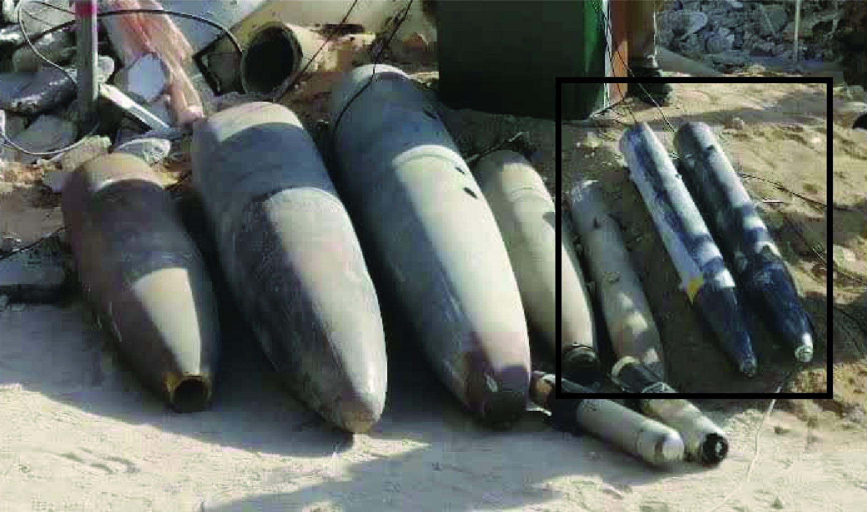 Remains Of Secret Israeli Missile, US-Made Guided Bombs Found In Gaza (Photos)