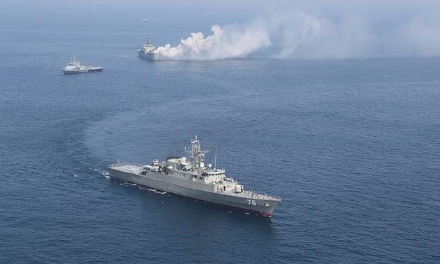 U.S. Coast Guard Warship Fires 30 Warning Shots At IRGC Speed Boats