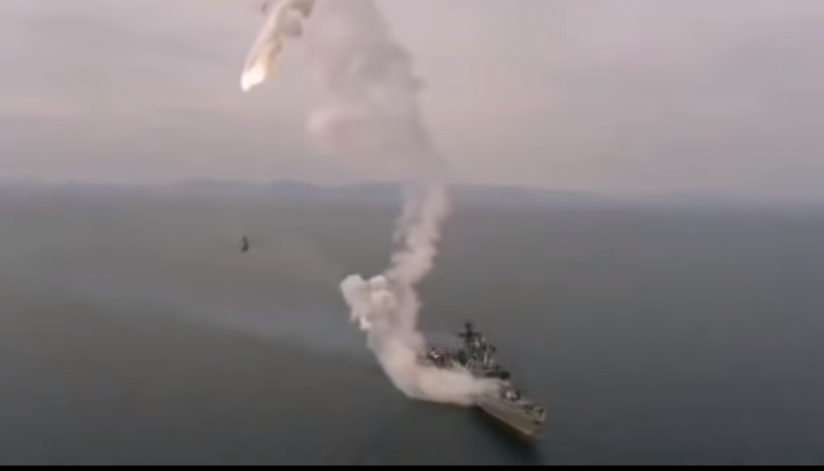In Video: Russian Frigate 'Marshal Shaposhnikov' Failed To Launch Kalibr Cruise Missile