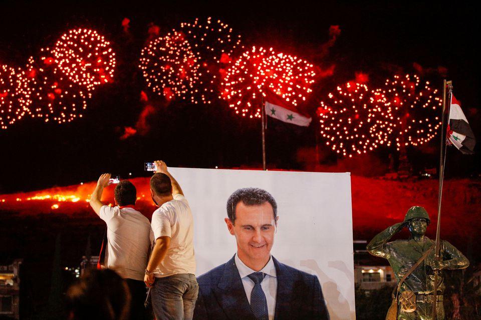 Bashar Al-Assad Elected For His 4th Term As Syrian President