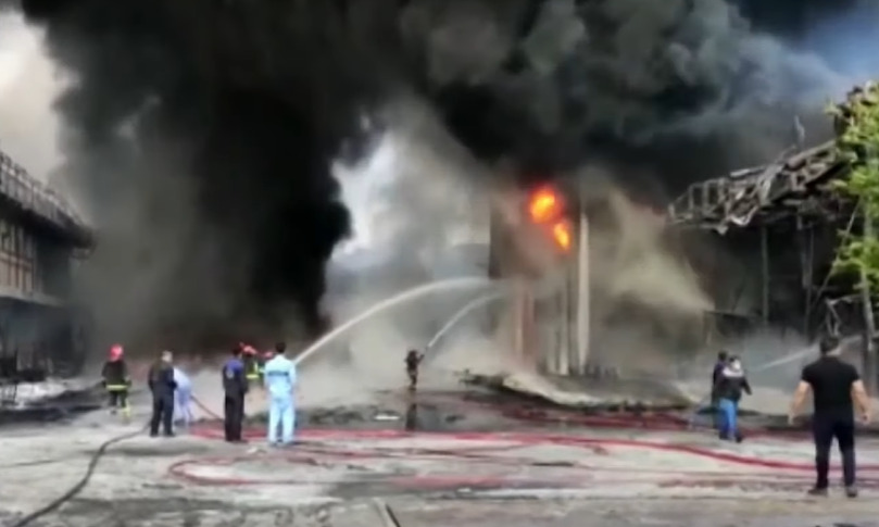 Explosions Hit Large Chemical Plant In Iran's Qom (Videos)