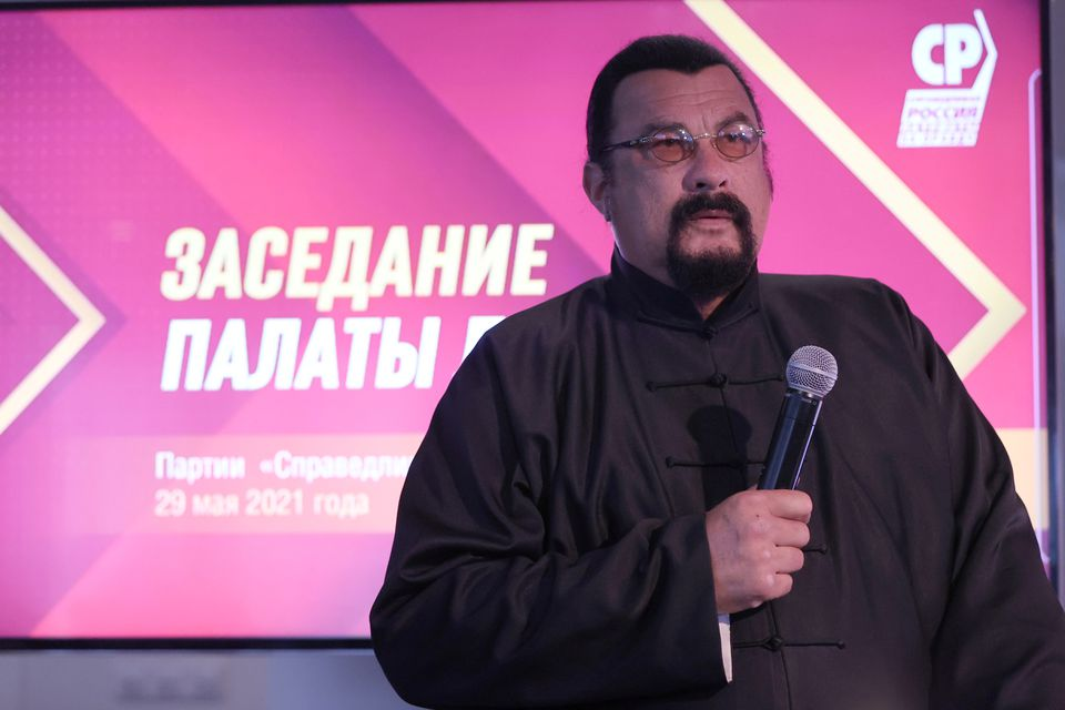 Steven Seagal Is Now A Russian Politician
