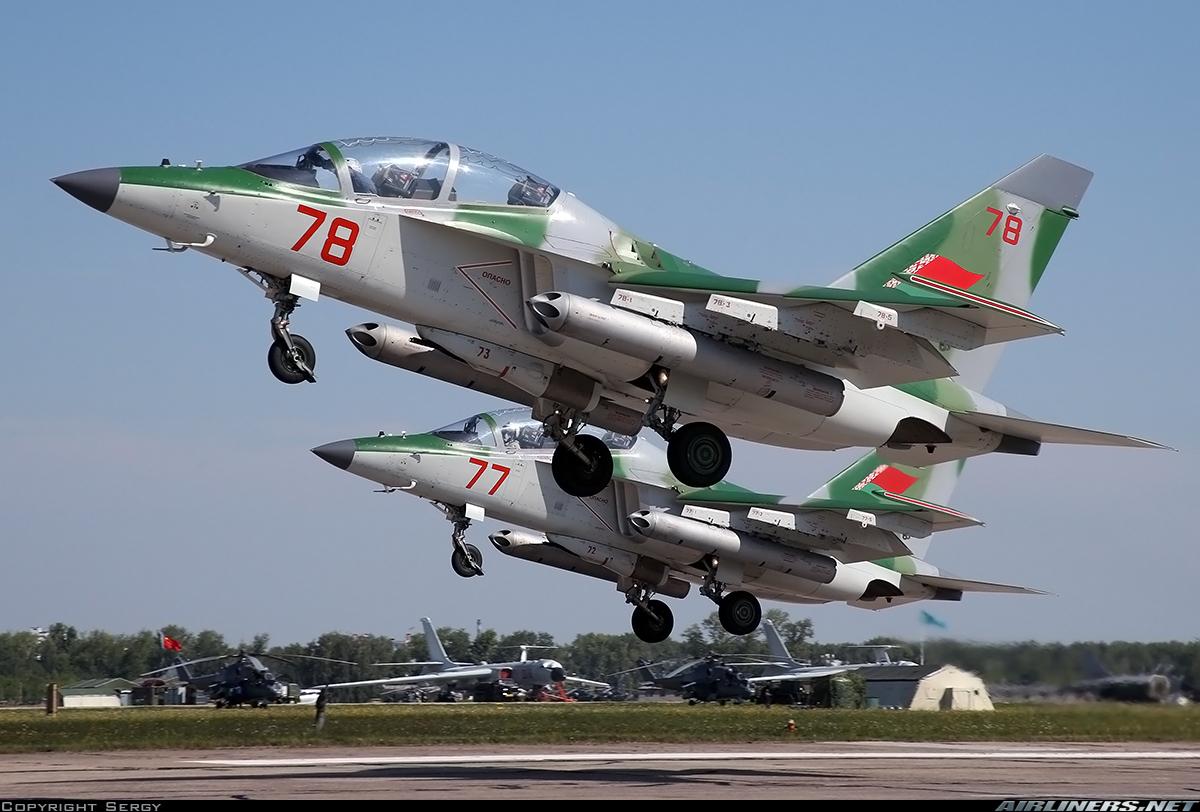 Two Pilots Killed In Yak-130 Plane Crash In Belarus