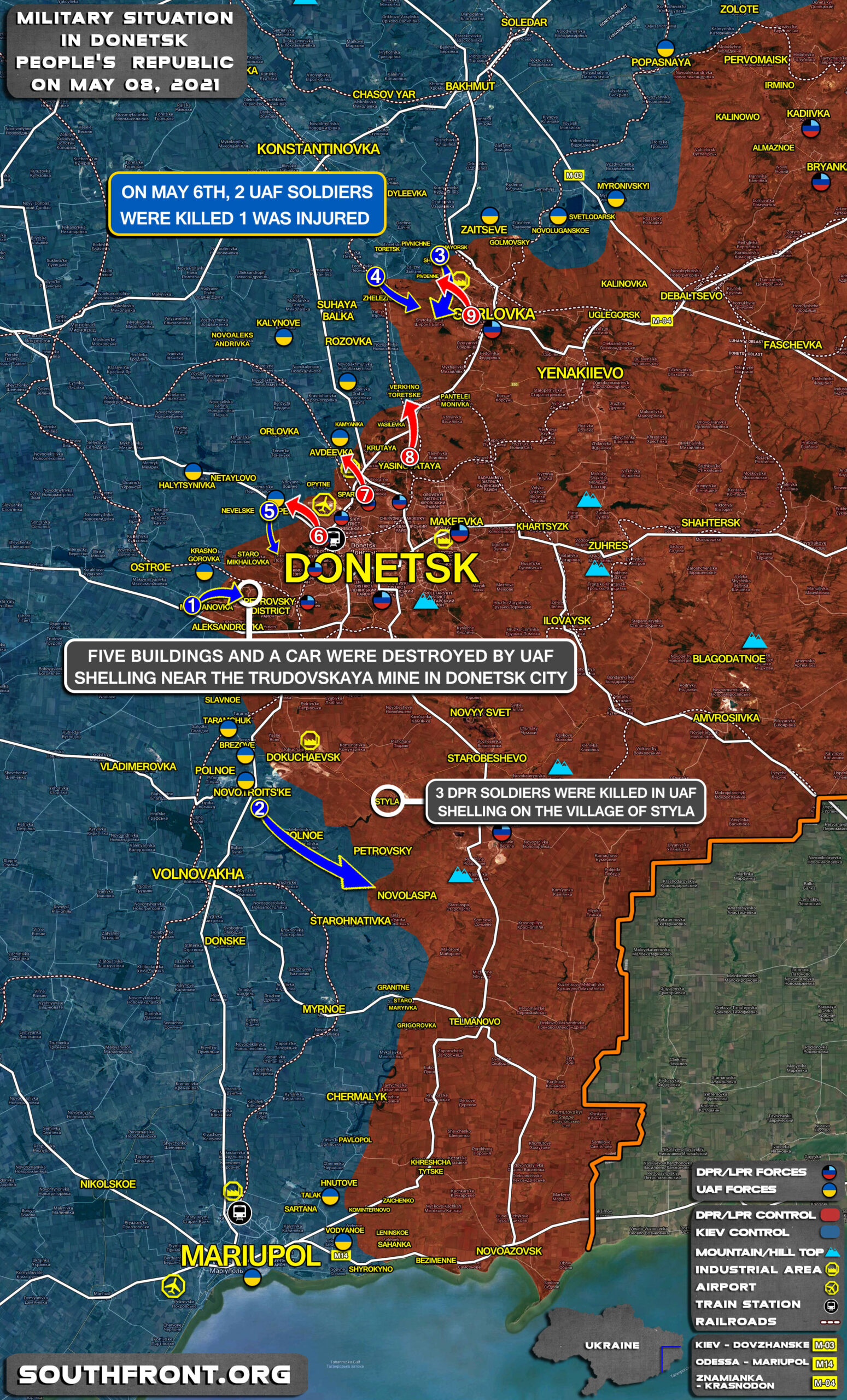 War In Ukraine Is Not Over: Losses Reported By Both Sides (Map Update)