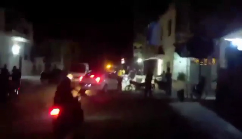Syrian Security Forces Clash With Protesters In Daraa City (Video)