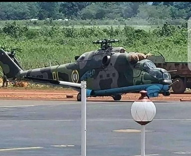 Russia Delivers Mi-8 And Mi-24 Helicopters To Central African Republic