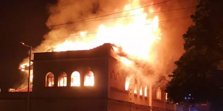 Colombian Rioters Burn Palace Of Justice In Tulua, As Protests Rage For Nearly A Month
