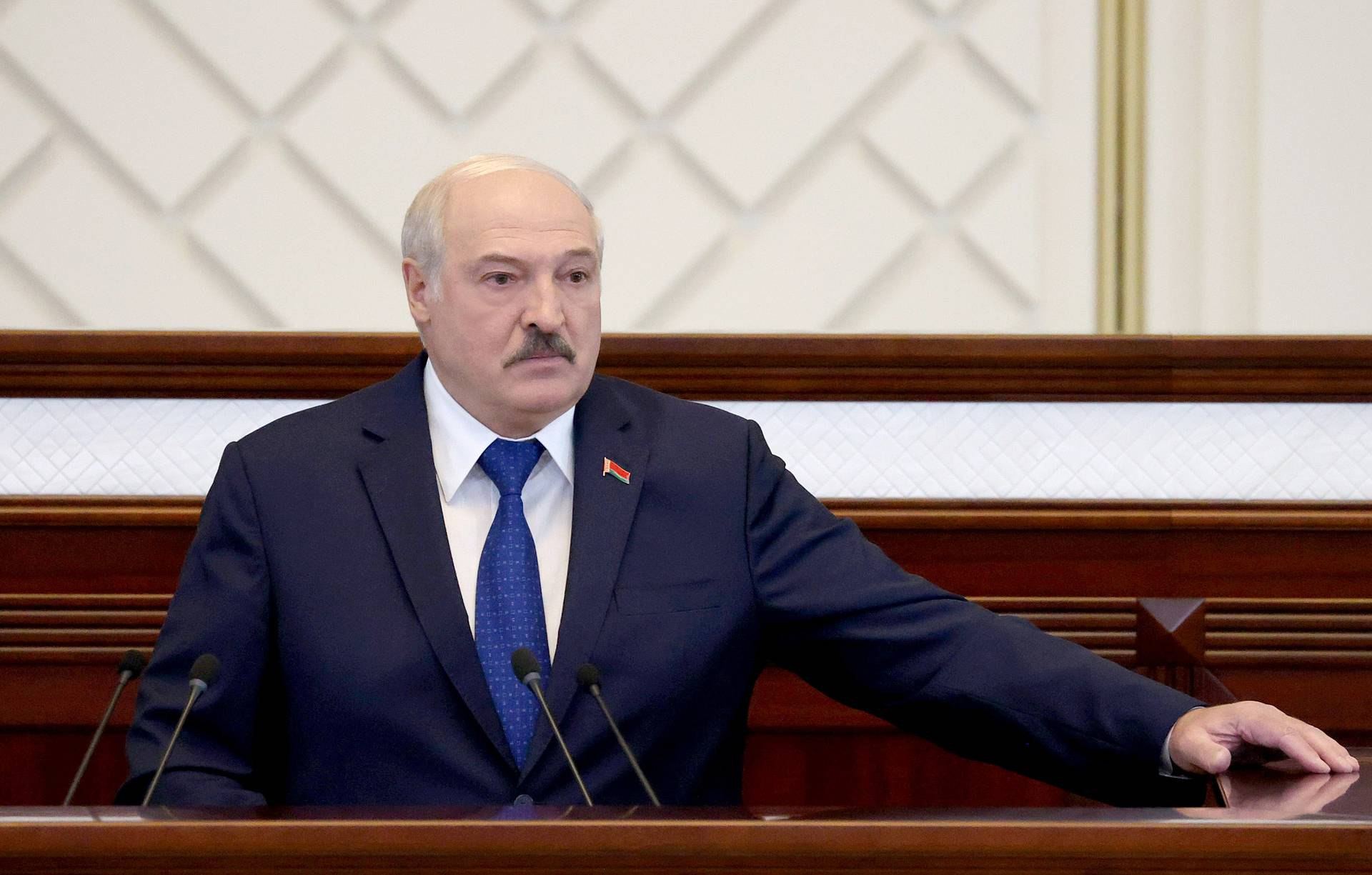 'This Is War': Lukashenko's First Public Comments On RyanAir Incident