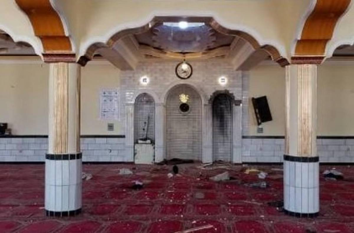 12 Killed In Kabul Mosque Blast Despite Nationwide Ceasefire (Photos)
