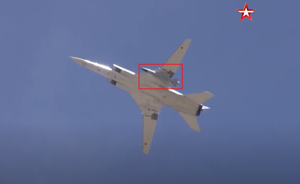 Heavy Russian Bombers Spotted With Long-Range Missiles During Exercise Off Syria's Coast