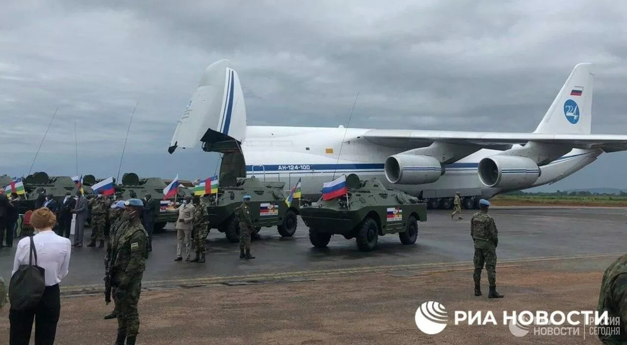 Russia Delivered Third Batch Of Weapons To Central African Republic