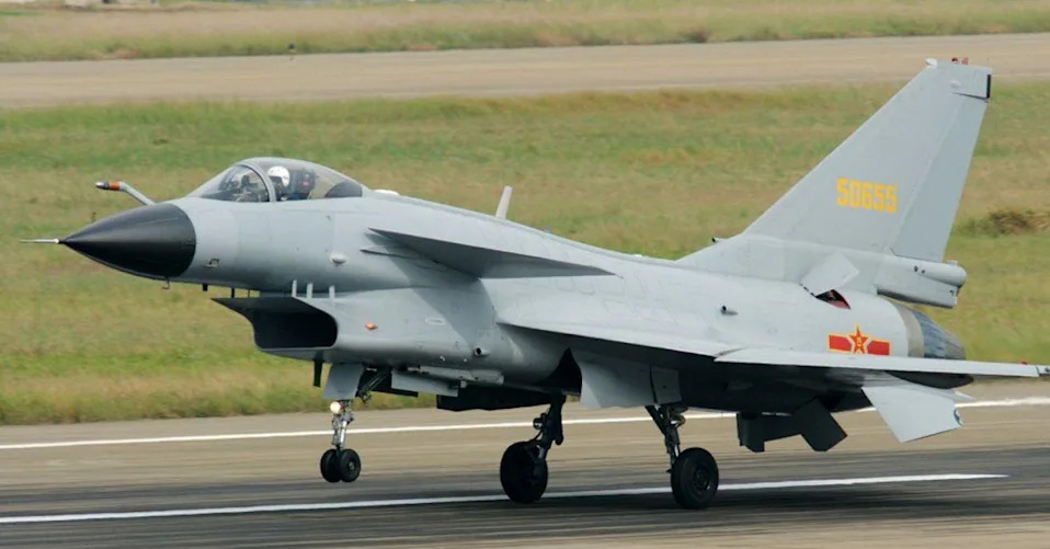 China's Air Force Fields J-10 Fighter Jet With Indigenous Engine