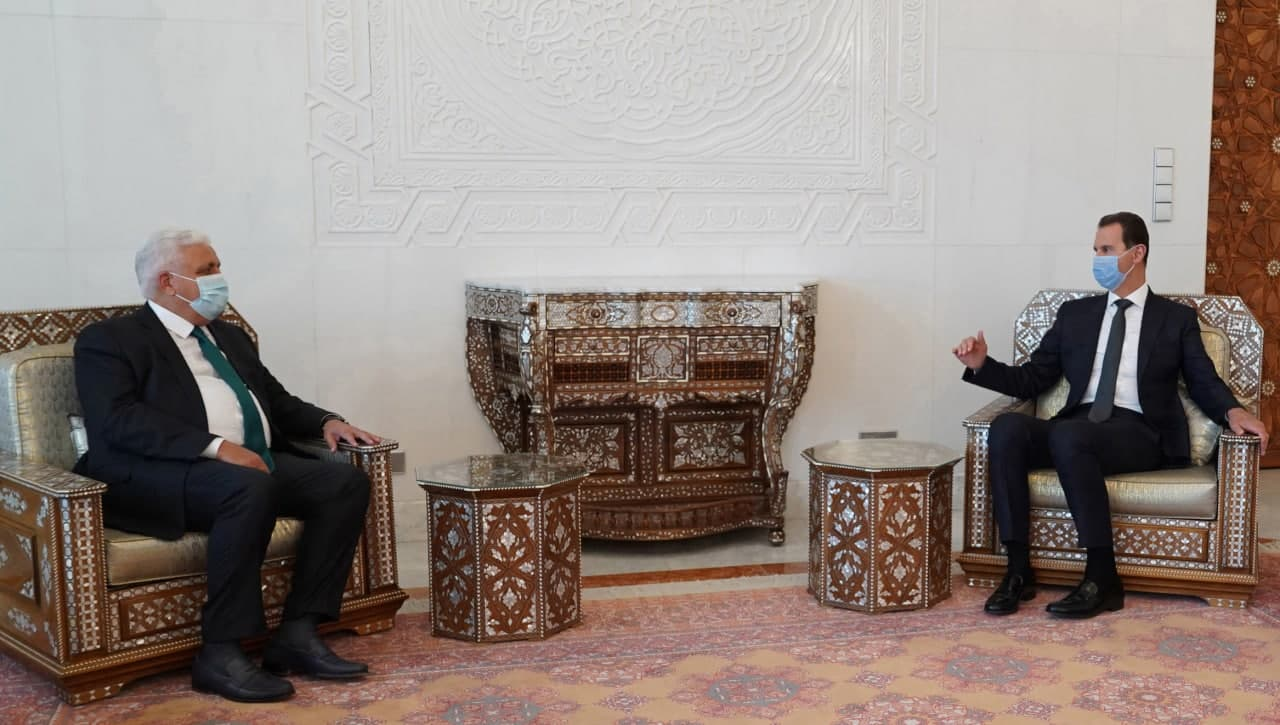 Syria's Assad Received Message On Bilateral Relations, War Against Terrorism From Iraqi Prime Minister