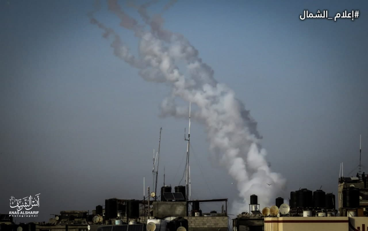 In Videos: 30 Rockets Launched Towards Jerusalem, After Tel-Aviv Did Not Follow Ultimatum Of Hamas' Armed Wing