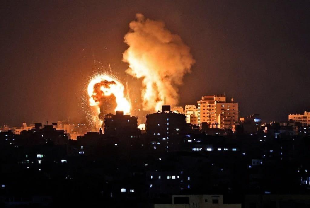 Israeli Fierce Response To Rockets Rain From Gaza (Videos)