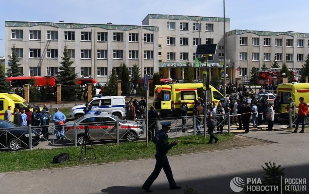 School Shooting in Russia's Kazan Leaves At Least 11 Dead, 16 Injured