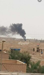 Drone Strike Destroyed Vehicle On Iraq's Border With Syria (Videos, Photos)
