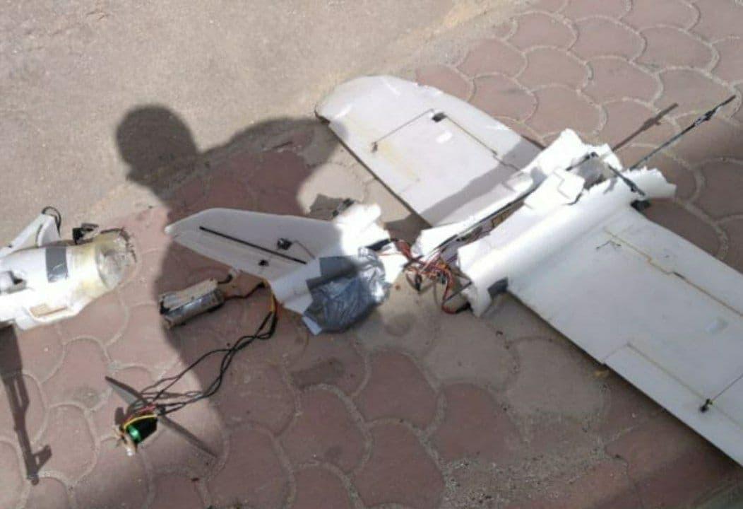 Pro-Turkish Militants Shot Down Drone Over Azaz In Syria's Aleppo (Photos)