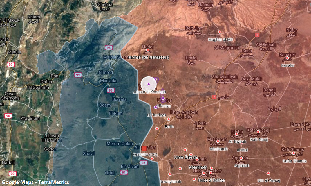 Israeli Combat Helicopters Attacked Syrian Army Posts Along Separation Line In Al-Quneitra
